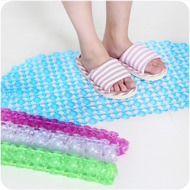 tasteless green plastic bath mat 140 bathroom shower floor mats with suction cups