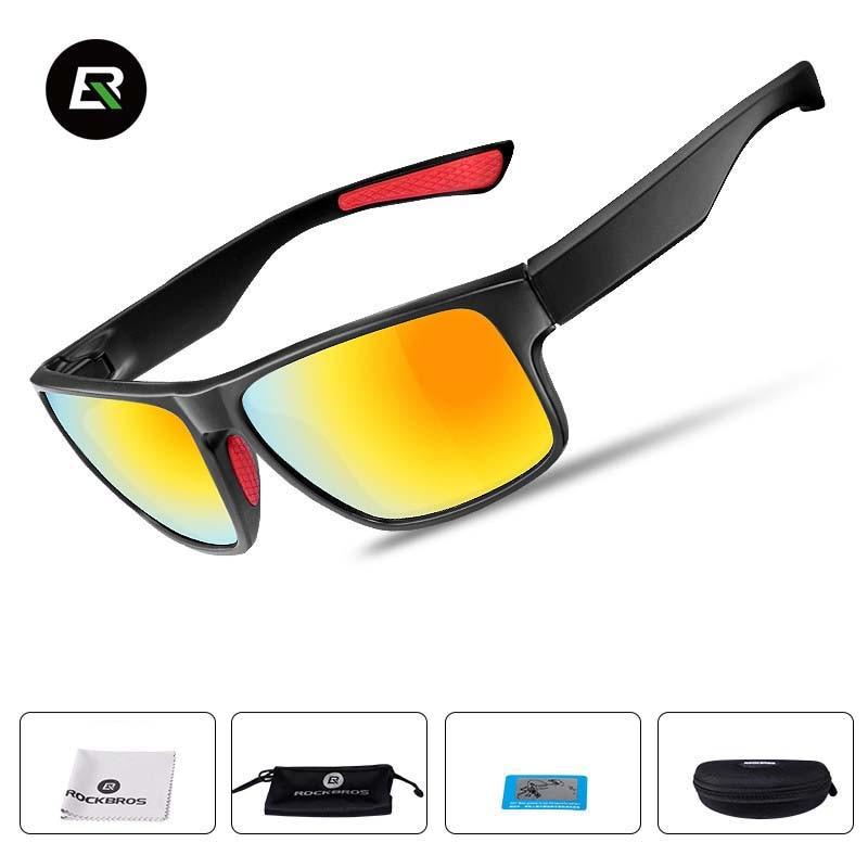 Prix pour Rockbros polarisées vélo lunettes hd anti-vertige vtt route vélo lunettes de soleil lunettes de soleil à vélo eyewears oculos para ciclismo