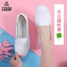 Nurse Shoes Summer Breathable Scrub  Medical  Surgical  Women Beauty Health Clover Zapatos Blancos Enfermera Mujer Enfermeras цена 2017