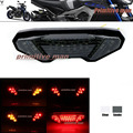Para yamaha mt09 fz 09 fz-09 mt-09 marcador/marcador 900 Tracer 700 MT-10/FZ-10 LED Integrado Tail Light Turn signal Blinker fumaça