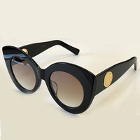 High Quality Acetate Frame Sunglasses Cat Eye Sunglasses Polarized UV400 Glasses Lens for Women Mens Oculos De Sol with Packing