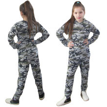Hot Toddler Girls Boys Kid Camouflage Top Blouse + Long Trousers 2pcs Outfit Outdoor Sport Suit Kids Clothing Set Tracksuit