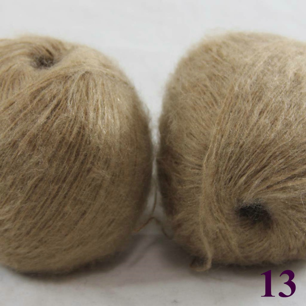 Sale Lot of 2 balls x 50g LACE MOHAIR Cashmere silk hand Yarn ...