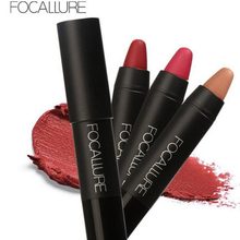FOCALLURE 1PCS Lipstick Matte Lipsticker Waterproof Sexy Long-lasting Easy to Wear Cosmetic Nude Makeup Lips Gloss 19 Colors