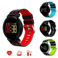 K2 Smart Bracelet Watch Blood Pressure Heart Rate Monitor Blood Oxygen Detection Waterproof Smart Band