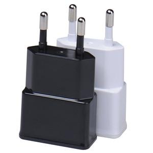 Image 1 - 5V 1A 米国 EU プラグ USB 出力旅行 Ac アダプタ充電器電源 Ac プラグ携帯電話ドックの充電サムスンギャラクシー S10 S9