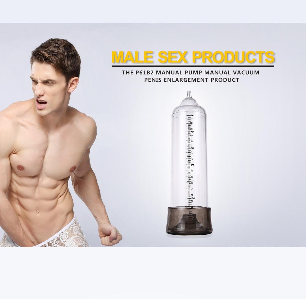Semo P61B2 Hand-drive Penis Enlarge Pump Manual Operation Vacuum Adult Product for Men Sex Products 3