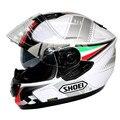 Shoei casco de la motocicleta casco de la Cara Llena del casco de doble lente Genuino casco de seguridad Abs + material de la Pc