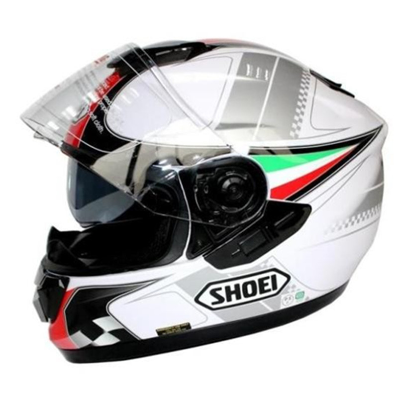 Shoei helmet motorcycle helmet Full Face helmet dual lens Genuine Abs Pc material safety helmet