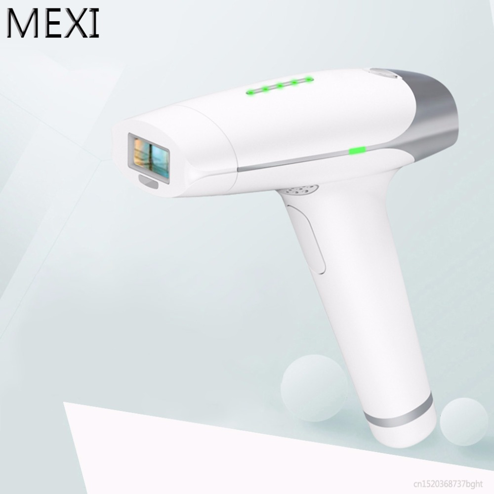 MEXI White 36W Permanent Hair Removal IPL Laser Epilator Body Face Shaving Machine Painless Kit US/EU/UK Plug laser epilator shaving replacement machine head hair removal depilator for g920 y05 c05