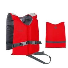 Профессиональный Спасательный Жилет для плавания для взрослых, портативный жилет из материала Оксфорд, EPE, детский спасательный жилет, спортивные спасательные жилеты для мужчин и женщин