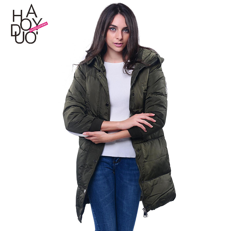 Long Coats 2017 Fashion Winter Hooded Coat Jacket Women Letter Printed Thick Outerwear Casaco Feminino Chaqueta Mujer Plus Size jacket coat 2017 winter women fashion hooded letter smiley embroidrey outerwear long coats cotton loose thick warm plus size