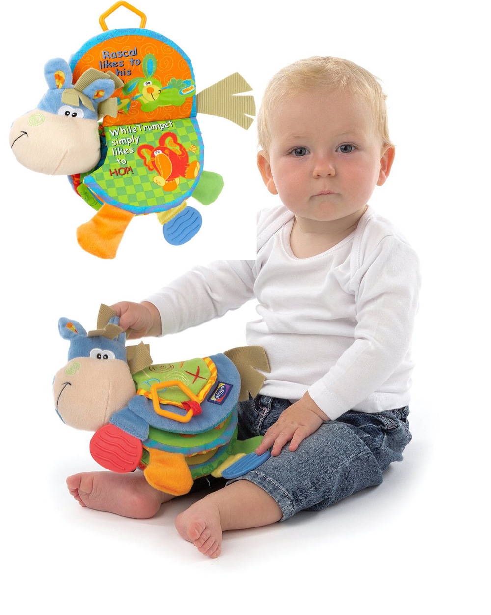 Baby Toy Infant Quiet Book Toys Cloth Doll Early