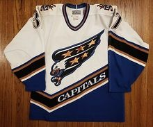 e6dc2084d  37 Olaf Kolzig Washington CAPITALS Vintage Starter Hockey Jersey  Embroidery Stitched Customize any number and