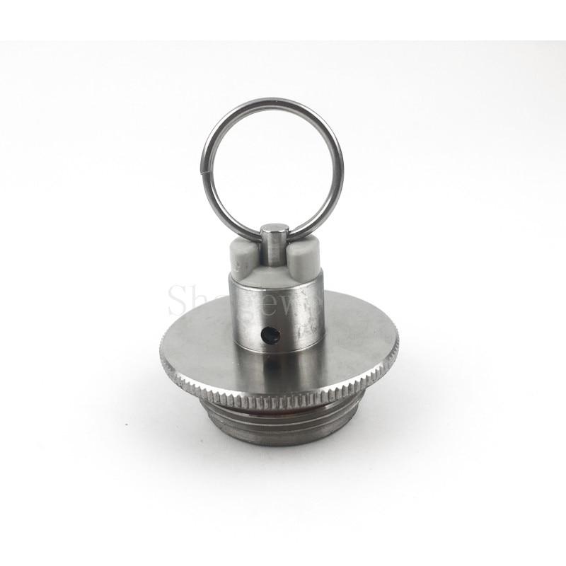 304 Stainless Steel 2L3.6L5L Homebrew Mini Beer Growler Keg Lid With Pressure Relief Valve (15)