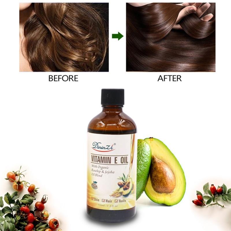 Pure Natural Massage Spa Avocado Vitamin E Essential Oil Cold Pressed Moisturiser Castor Oil Hydrating Hair Care new 2
