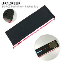 JayCreer Badminton Squash Drawstring Backpack Bag Case Capacity:5L Size: LXWXH(72X3.5X24CM)(China)