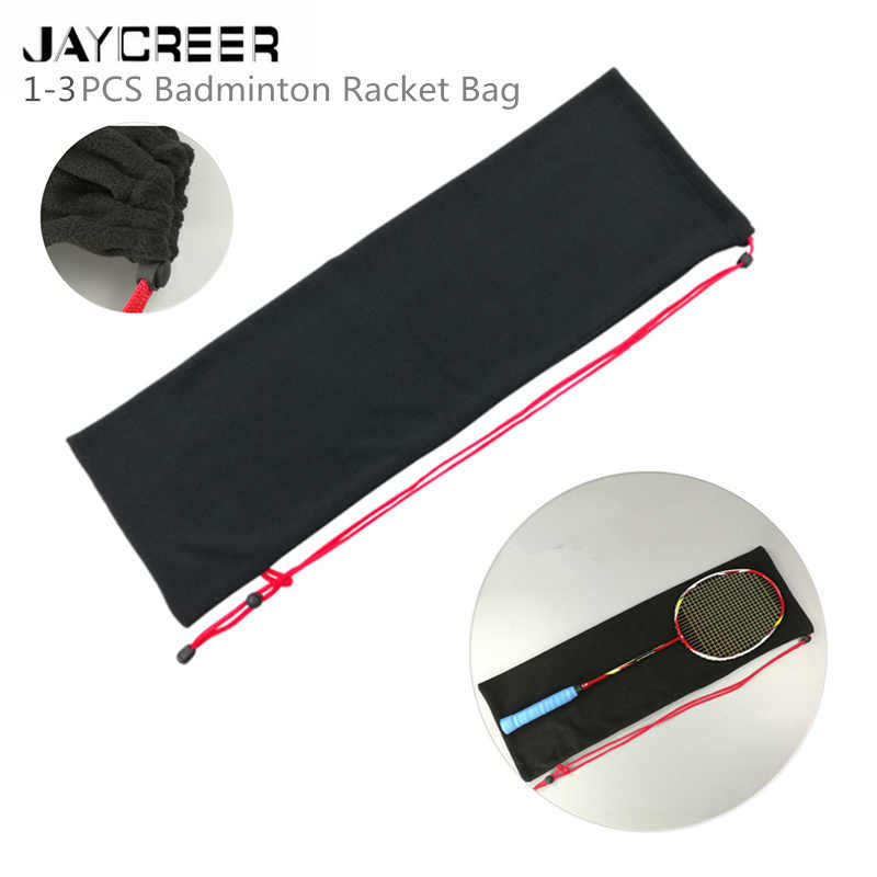 JayCreer Badminton Squash Drawstring Backpack Bag Case Capacity:5L Size: LXWXH(72X3.5X24CM)
