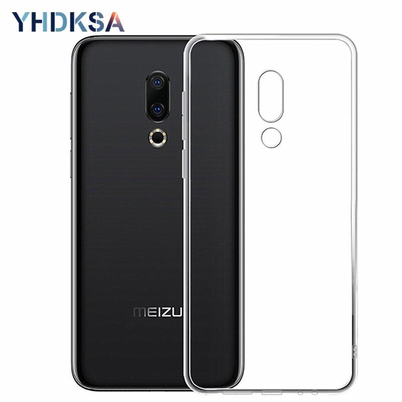 Ultra Thin Soft Transparent Case For Meizu M6 M5 M3 Note M6S M5S M3S M15 16 Th 15 Plus Lite 16X Pro 6 7 Plus Phone Cases Cover