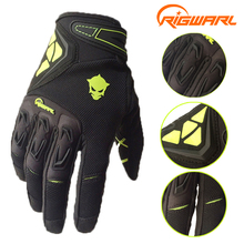 RIGWARL Men Spring Autumn Full Finger Cycling font b Gloves b font Bike Motocross Racing font