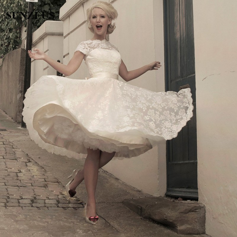 Cute Short Wedding Dresses Promotion-Shop for Promotional Cute ...