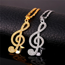 Trendy Music Note Necklaces