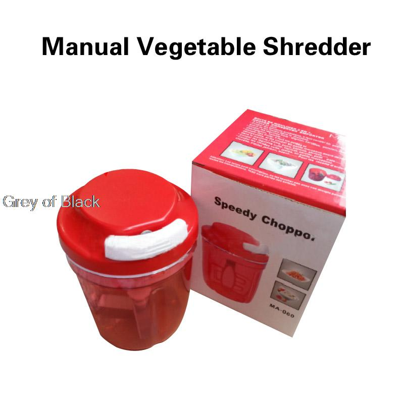 kitchen tool 730ml Arge Mass Speedy hand vegetable Chopper troceador shredder picador Cortador Slicer Rallador Alimento cebolla