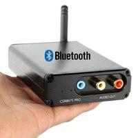 CSR8675 Bluetooth Receiver 5.0 Decode Audio Board APTX HD 24BIT Wireless Audio Module PCM5102 I2S DAC With Antenna