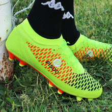 hot sale cheap chuteira futebol original brand football shoes AG cleats men outdoor sneakers soccer boots boys trainning futsal