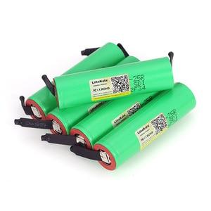 Image 5 - 6 sztuk/partia Liitokala nowy oryginalny 18650 2500mAh baterii INR1865025R 3.6V rozładowania 20A dedykowane zasilanie baterii + DIY nikiel