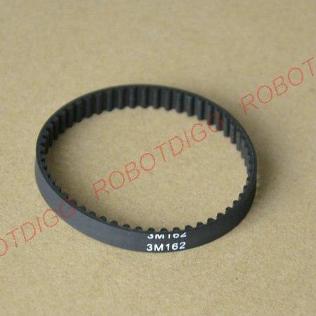 HTD 3M, Timing Belt, Closed-loop, 162mm length, 54 teeth, 6mm widthHTD 3M, Timing Belt, Closed-loop, 162mm length, 54 teeth, 6mm width