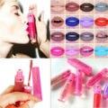 9 colores de Larga Duración Impermeable Elegante mate suave brillo de labios Lápiz Labial Líquido brillo de Labios Lápiz de Maquillaje Chica Dulce Lápiz Labial Del Envío Gratis