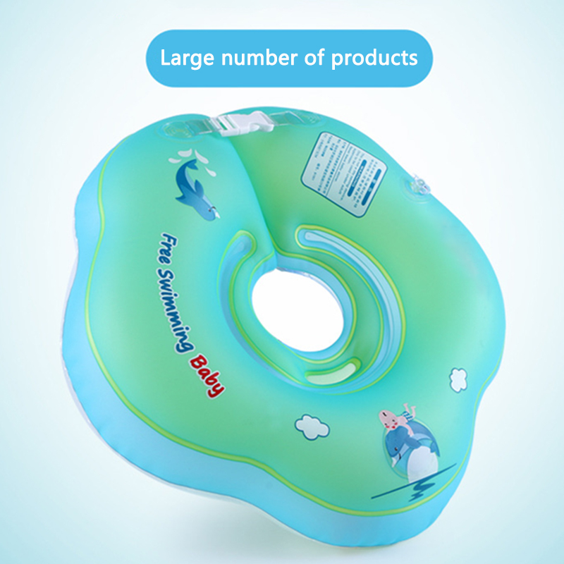 Swimming Pool Accessories Neck Ring Collar Inflatable Floating Water High Quality Large Buoyancy Baby Swimming Wading Sports Toy