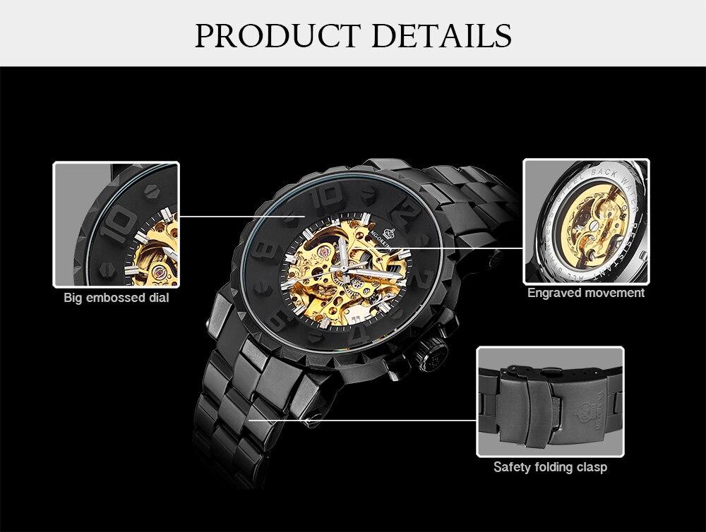 HTB1Ysc6hWagSKJjy0Fcq6AZeVXaa MG. ORKINA Men Wristwatch Golden Skeleton Clock Mechanical Male Wrist Watch Black Relogio Masculino Automatic Zegarek Meski