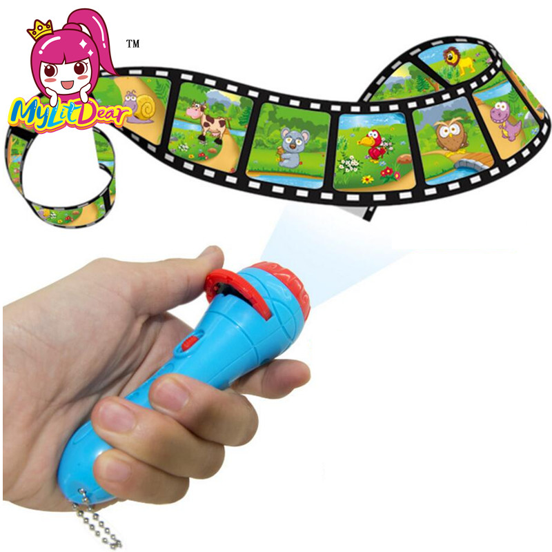 Kinderkleding Klassieke Verhaal Projector Speelgoed Lichtgevende Speelgoed Baby Verlichting Zaklamp Speelgoed Peuter Speelgoed Meisjes Jongens