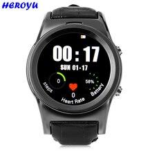 Heroyu Smartwatch Telefon MTK2502 Bluetooth 4,0 Herz Rate Monitor Fernbedienung Kamera Armbanduhr Smart uhr für Android IOS Telefon