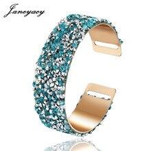 New 2018 Fashionable Summer Rhinestone Bracelet High-quality Women's Bracelet Women's Banquet Jewelry Bracelet Brand Pulsera
