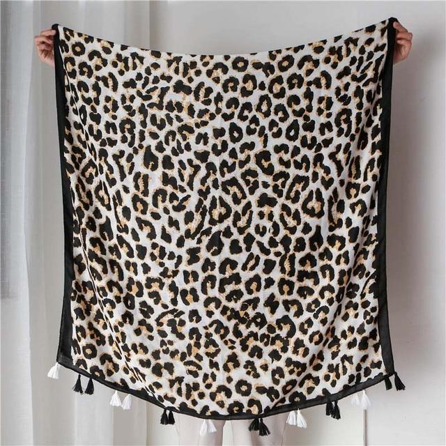 18090cm Women Leopard Print...