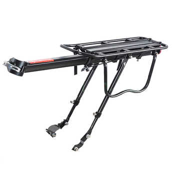 Black Bike Bicycle Quick Release Luggage Seat Post Pannier Carrier Rear Rack Fender - DISCOUNT ITEM  10% OFF All Category