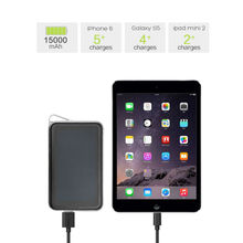 Allpowers 15000mAh Solar Exernal Battery Solar Power Bank Outdoors Solar Phone Chargers for Smartphone Tablets PC etc.