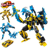 Building Blocks Transformation Robot Human Alliance Action Figures Toys For Classic Toys Anime LegoINGlys Figure Cartoon