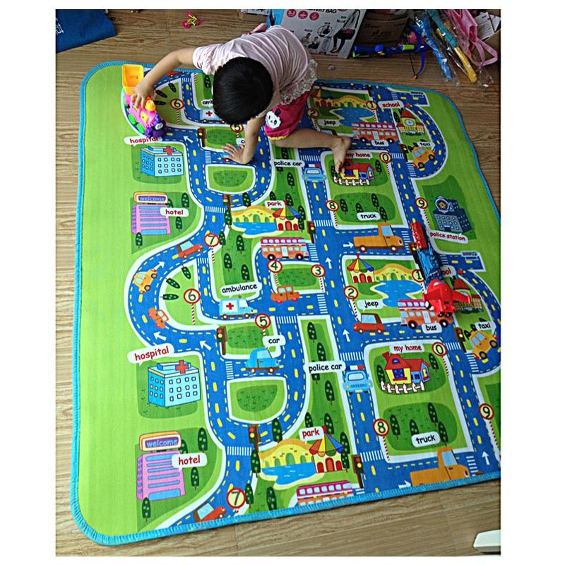 200cmx160cmx5mm Children Play Mat Beach Picnic mat font b baby b font playing mat Crawling Rug