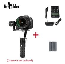 Quem vê ec1 32-bit 3-axis câmera cardan handheld 360 graus sem fim para a7s canon 6d/5d/7d mirrorless & dslr câmeras vs ds1