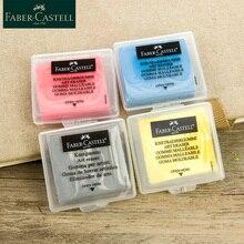 Faber-Castell пластичность резиновый мягкий ластик вытирать изюминкой разминаемая резина для художественного пианирования Дизайн Эскиз Пластилин канцелярские принадлежности