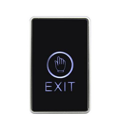 Free Shipping ,touch Exit Button,Senior Acrylic Panel ,NO/NC/COM Output, Blue Back Light Electric Box Cassette, Min:1pcs