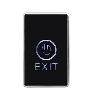Free Shipping ,touch exit button,Senior acrylic panel ,NO/NC/COM output, blue back light electric box cassette, min:1pcs
