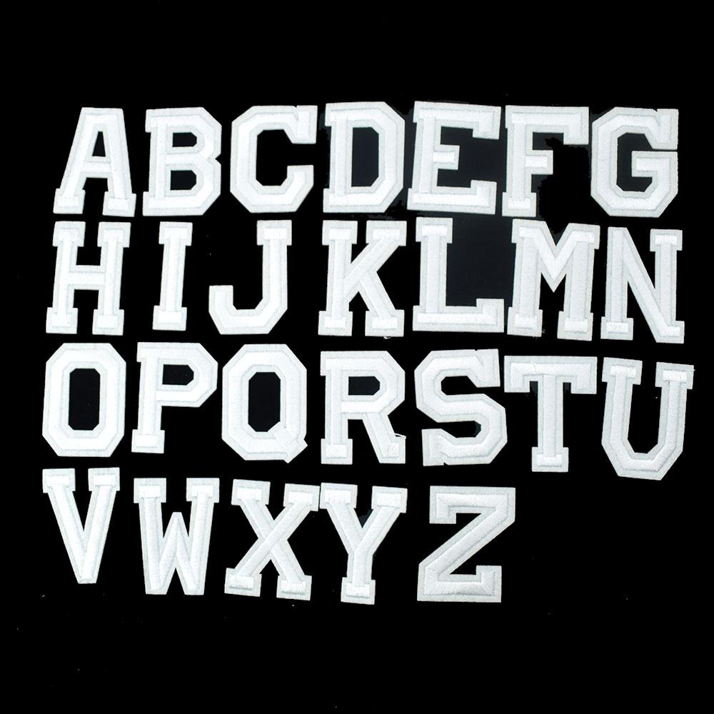 """1/""""x1 1//8/"""" Fancy Blue Script Cursive Alphabet Letter B Embroidered Patch"""