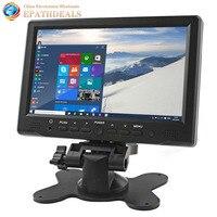7 inch TFT LCD Màu Sắc Tươi Sáng Car Rear View Monitor Giao Diện HDMI AV VGA Auto Xe Chiếu Hậu Xếp Monitor Đậu Xe hỗ tr
