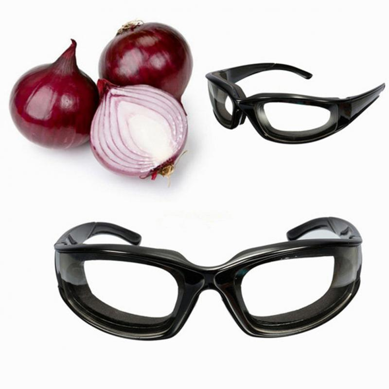 Protective Glasses Black Onion Goggles Tear Free Slicing Cutting Chopping Mincing Eye Protect Glasses Spectacles