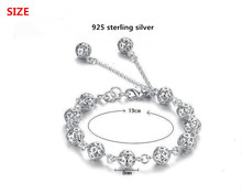 Crafted Balls Sterling Silver Bracelet Fashion Jewelry